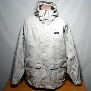 Patagonia H2NO White Boarding Jacket Mens Medium